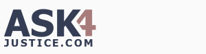 ask4justice.com - homepage logo